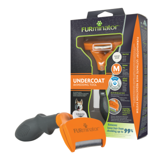 Furminator Medium Dog 7см Фурминатор для собак средних пород
